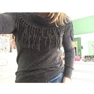 Michael Kors Fringe Sweater